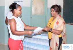 Jovens da Unidade de Transformação de Pescado de Salamansa receberam formação na área de higiene e segurança no manuseamento de pescado