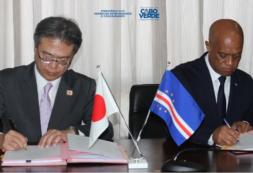 Cabo Verde e Japão reforçam Cooperação