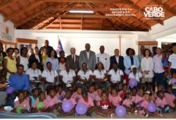 Cabo Verde destaca-se em relação aos outros países da sub-região pela excelente cobertura vacinal