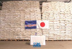 Japão doa 5.954 toneladas de arroz a Cabo Verde