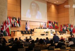 Janine Lélis realça engajamento conjunto com vista ao trabalho decente e implementação da Agenda do Desenvolvimento Sustentável
