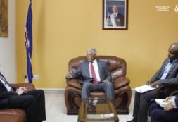 Ministro José Gonçalves recebe Embaixador da República Federativa da Rússia em Cabo Verde