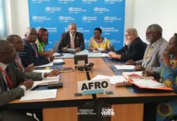 Arlindo do Rosário preside reunião dos Ministros de Saúde da CPLP da Região Africana, em Brazzaville