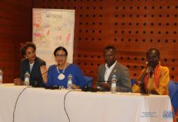 A Ministra Maritza Rosabal preside a abertura do Encontro Nacional para a Socialização do Manual de Gestão do Projeto da Inclusão Social