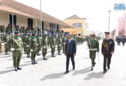 Primeiro-ministro reafirma empenho em melhorar e consolidar as Forças Armadas de Cabo Verde