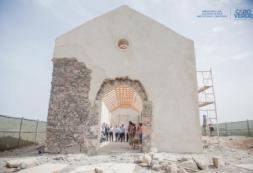 MCIC visita obras de reconstrução da Igreja de São Tiago Maior - Santa Cruz