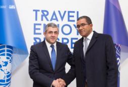 Ministro Carlos Santos convida Secretário Geral da OMT a visitar Cabo Verde