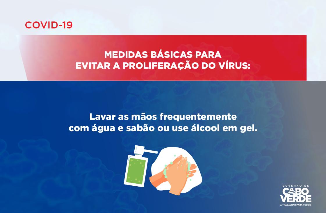 COVID 19 – MEDIDAS BÁSICAS PARA EVITAR A PROLIFERAÇÃO DO VÍRUS -02
