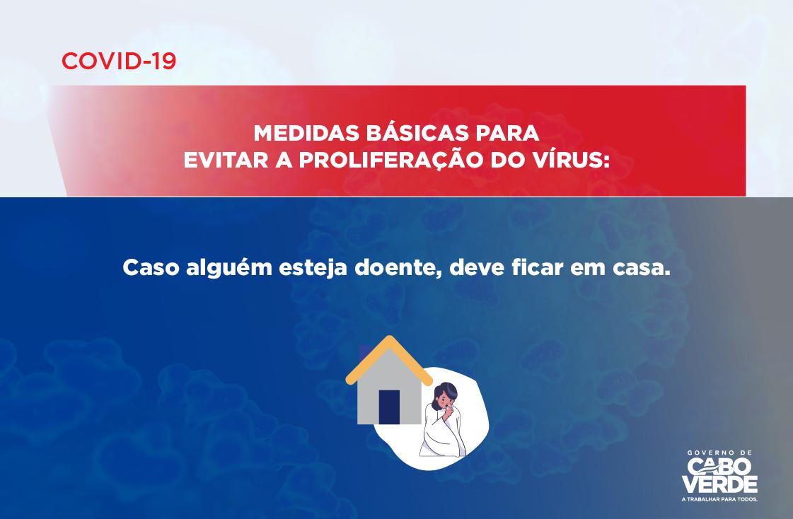 COVID 19 – MEDIDAS BÁSICAS PARA EVITAR A PROLIFERAÇÃO DO VÍRUS -05