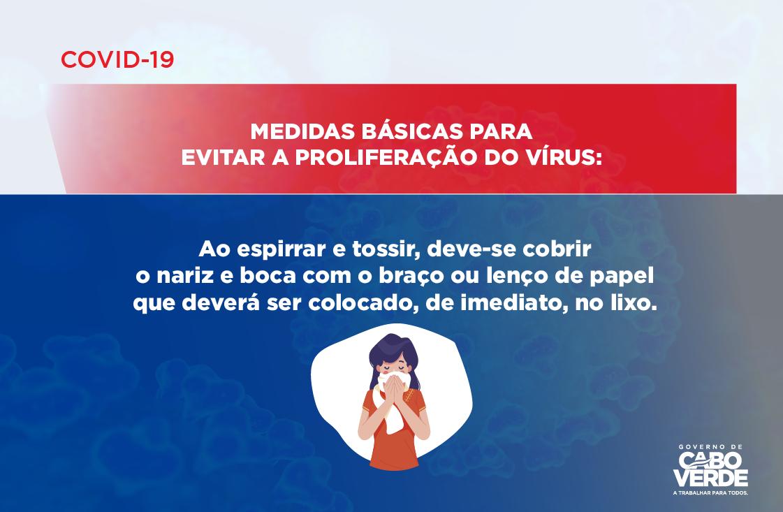 COVID 19 – MEDIDAS BÁSICAS PARA EVITAR A PROLIFERAÇÃO DO VÍRUS -06