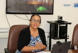 """""""Questões de género não são somente de justiça social, mas sim de um pré-requisito ao desenvolvimento sustentável do mundo"""" - Maritza Rosabal"""