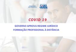 Governo aprova regime jurídico de formação profissional à distância