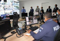 Cidade Segura: Governo inaugura Centro de Comando de S. Vicente