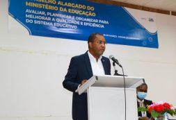Ministro da Educação faz balanço da governação no setor da educação