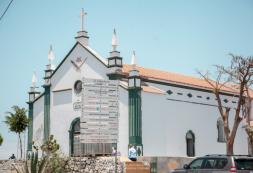 Reabilitação da Igreja de Santa Catarina na fase final