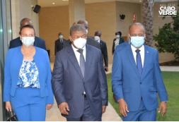 Ulisses Correia e Silva recebe Presidente angolano João Lourenço, no Sal